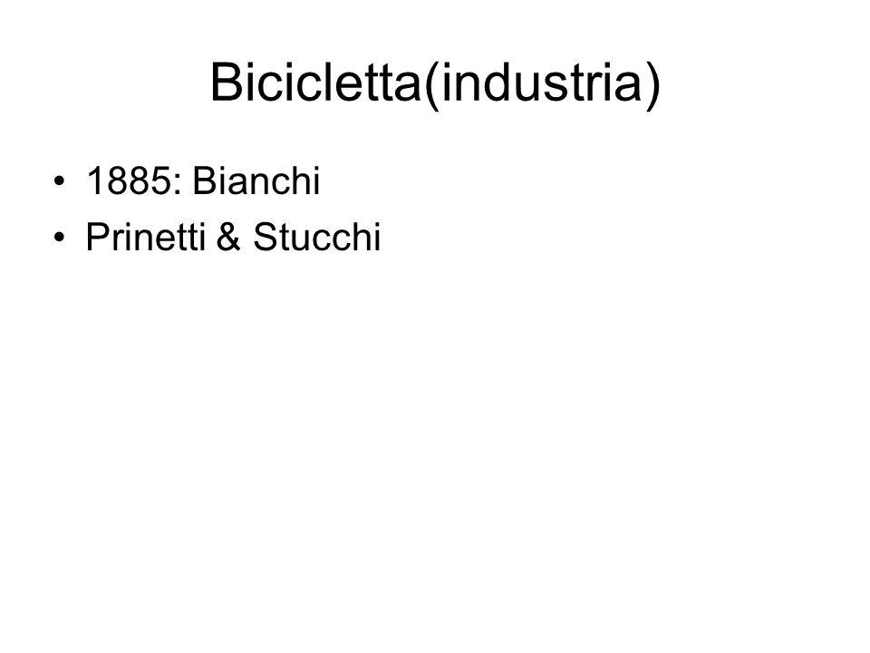 Bicicletta(industria)