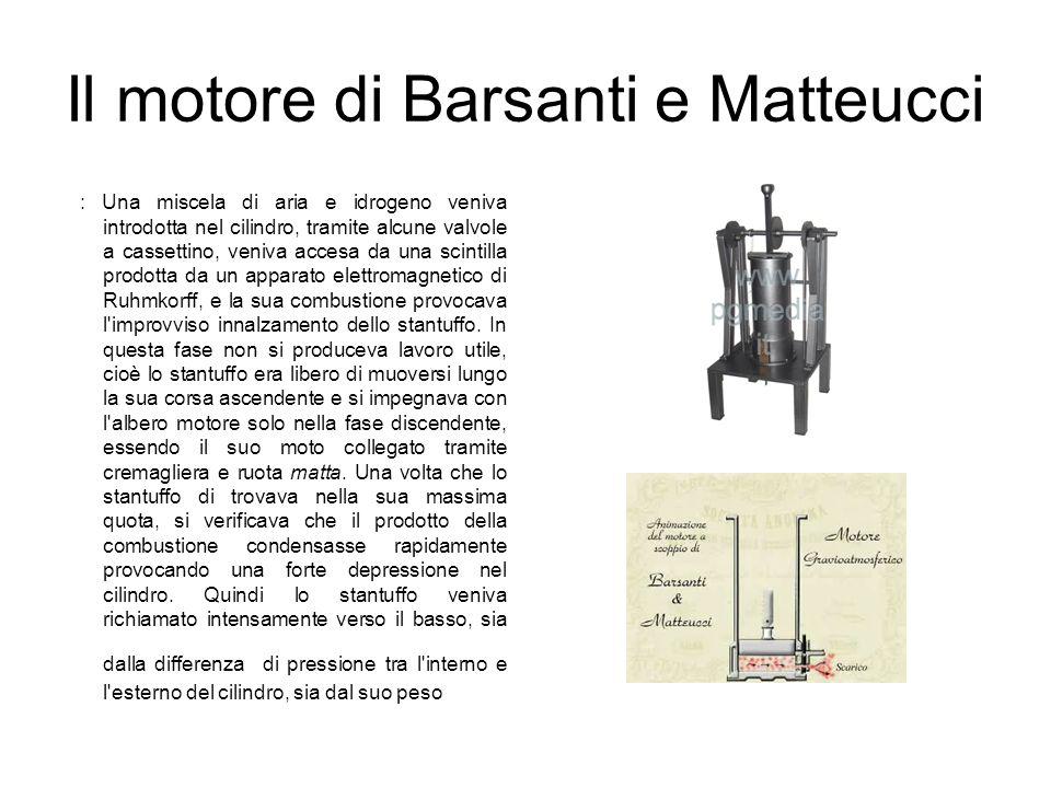 Il motore di Barsanti e Matteucci
