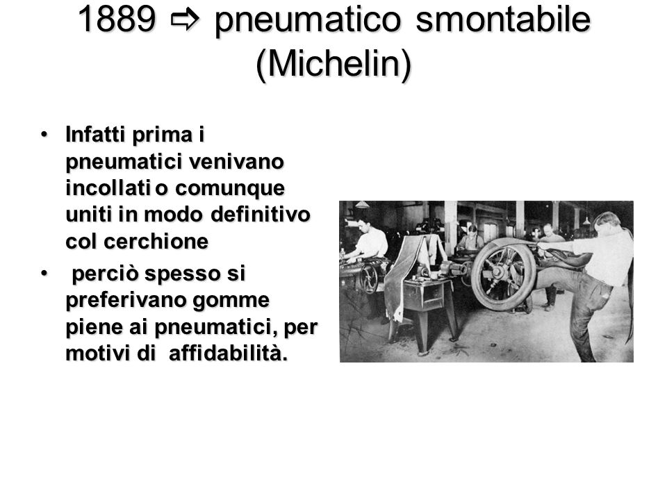 1889  pneumatico smontabile (Michelin)