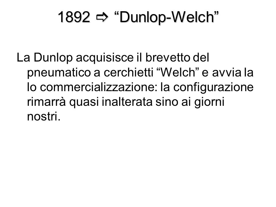 1892  Dunlop-Welch