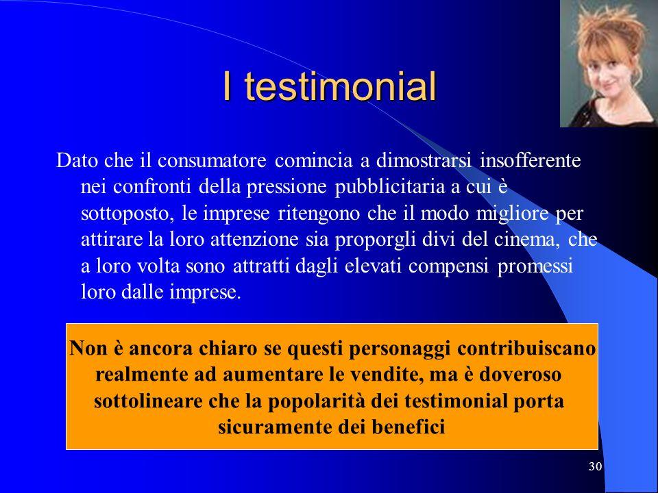 I testimonial