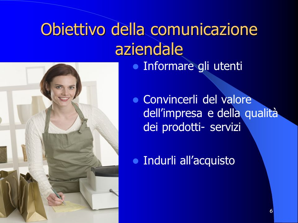Obiettivo della comunicazione aziendale