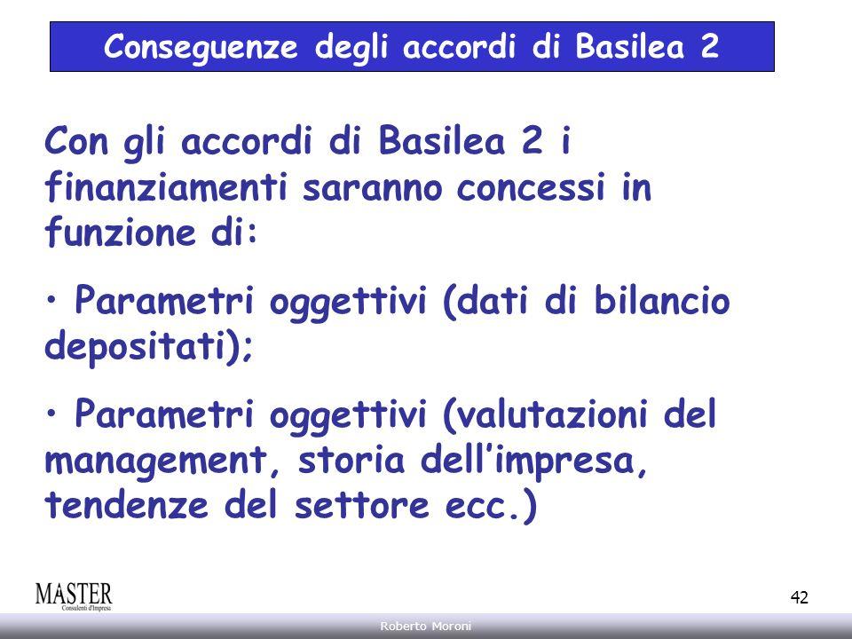 Conseguenze degli accordi di Basilea 2