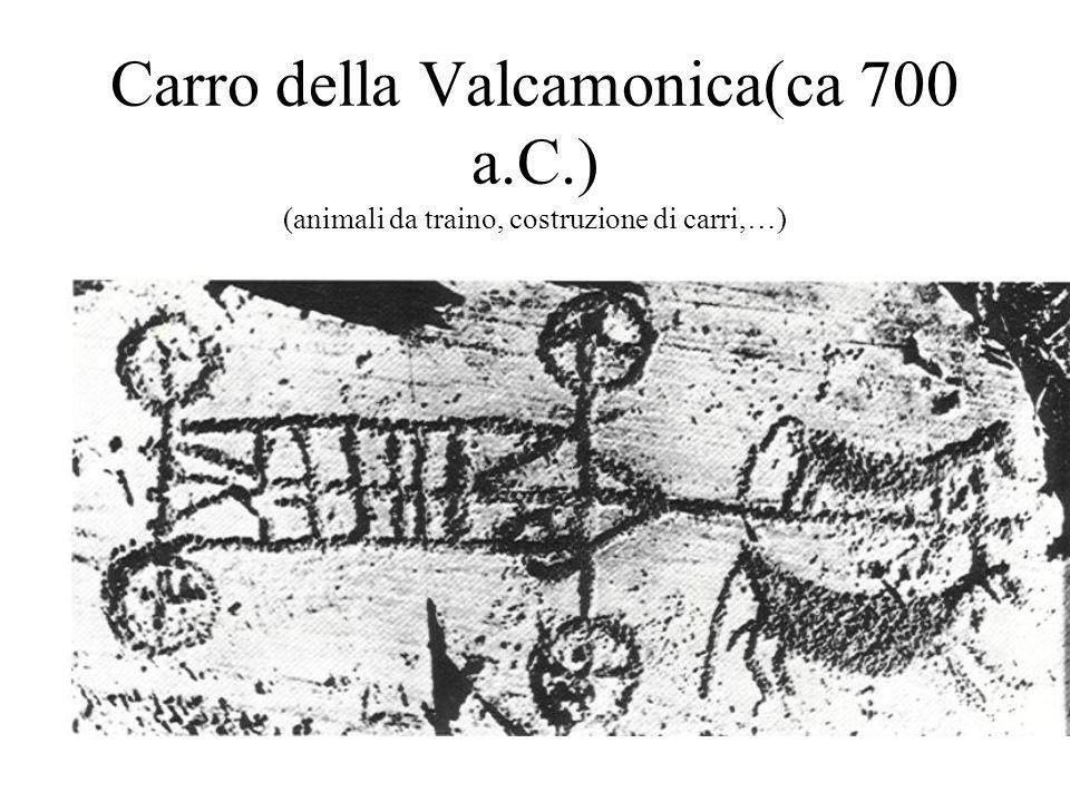 Carro della Valcamonica(ca 700 a. C