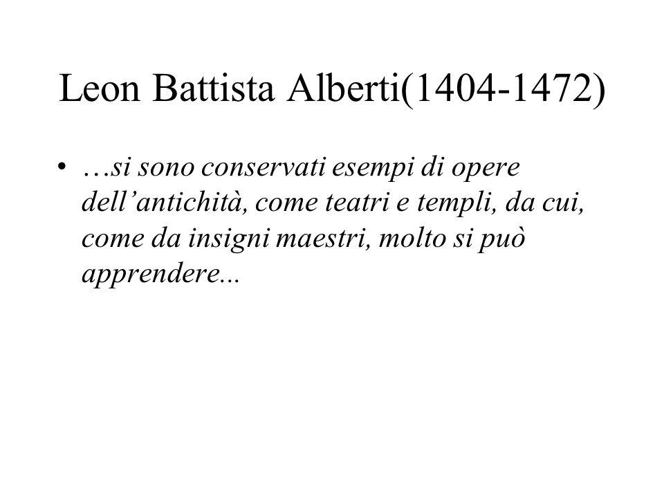 Leon Battista Alberti(1404-1472)