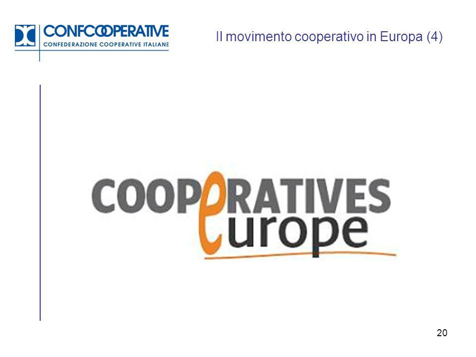 Il movimento cooperativo in Europa (4)