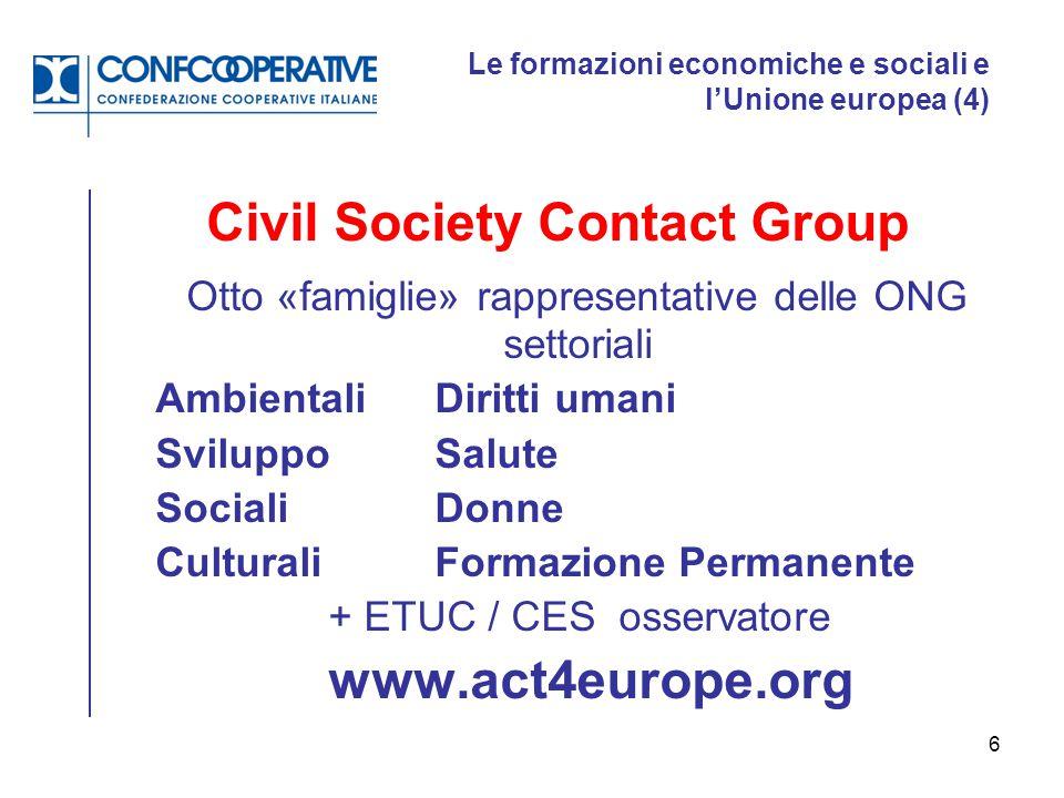Le formazioni economiche e sociali e l'Unione europea (4)