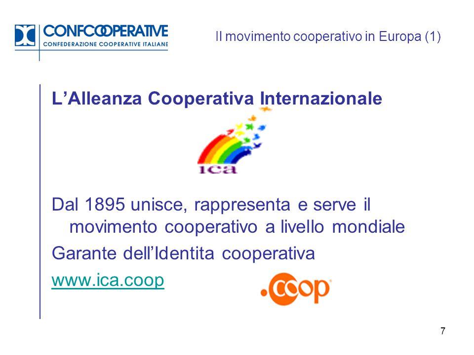 Il movimento cooperativo in Europa (1)