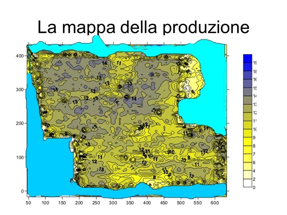 La mappa della produzione