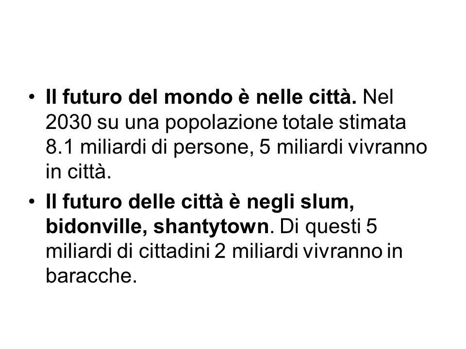 Il futuro del mondo è nelle città