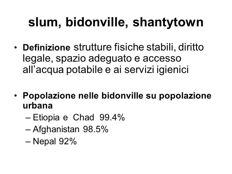 slum, bidonville, shantytown