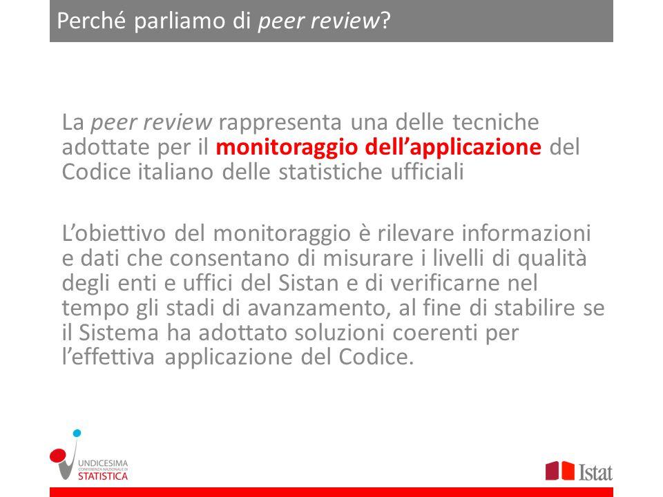 Perché parliamo di peer review