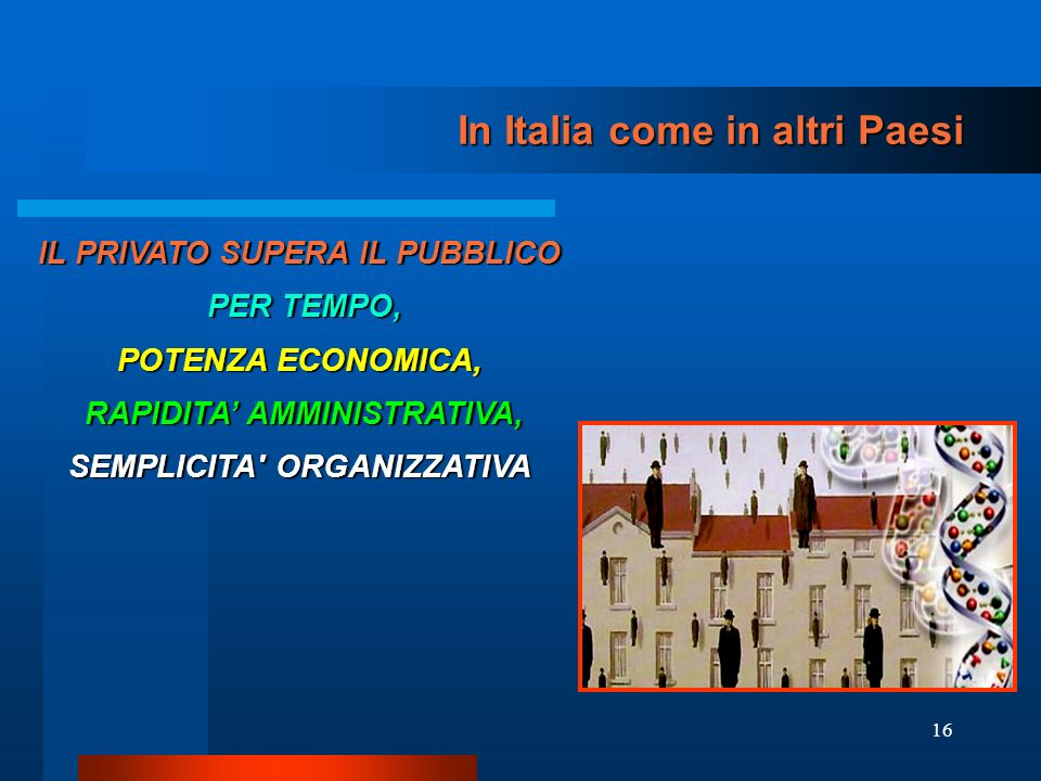 In Italia come in altri Paesi