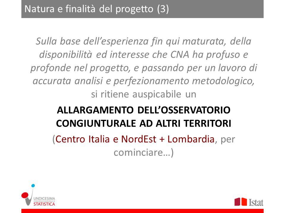 Natura e finalità del progetto (3)