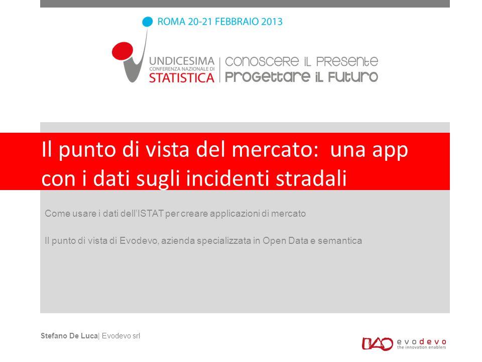 Il punto di vista del mercato: una app con i dati sugli incidenti stradali