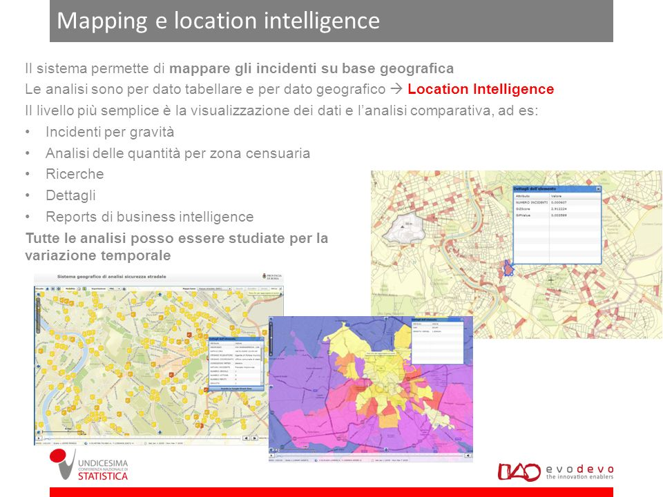Mapping e location intelligence