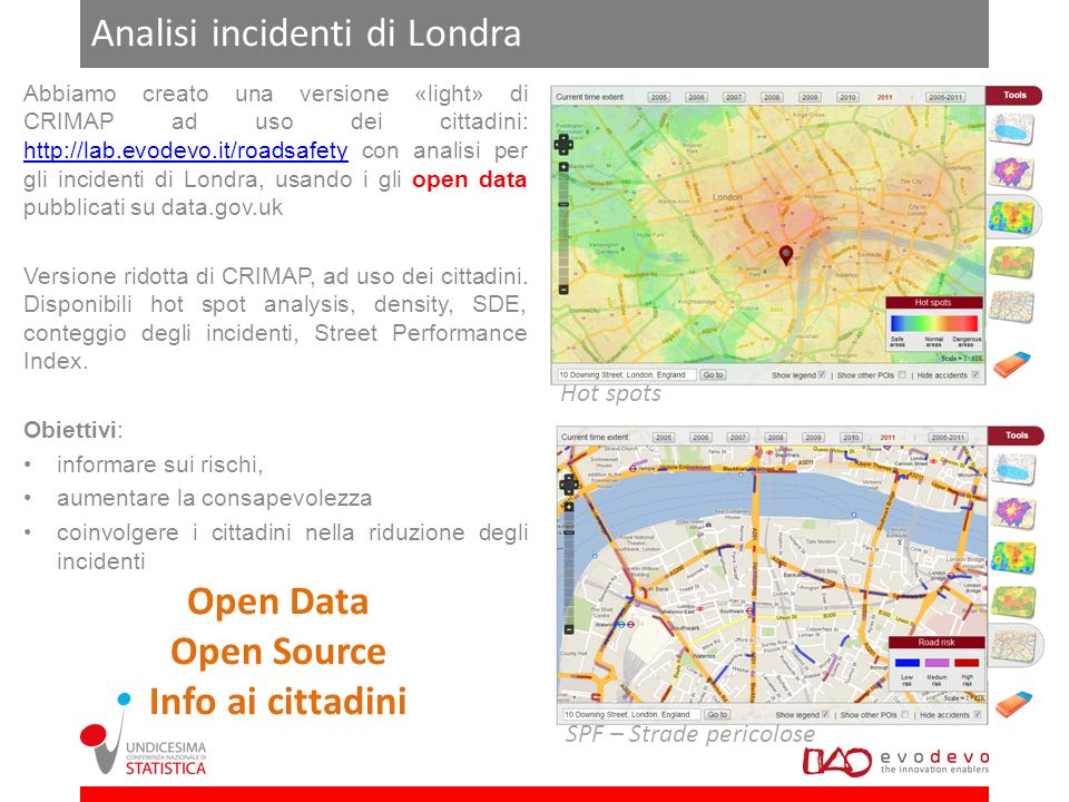 Analisi incidenti di Londra