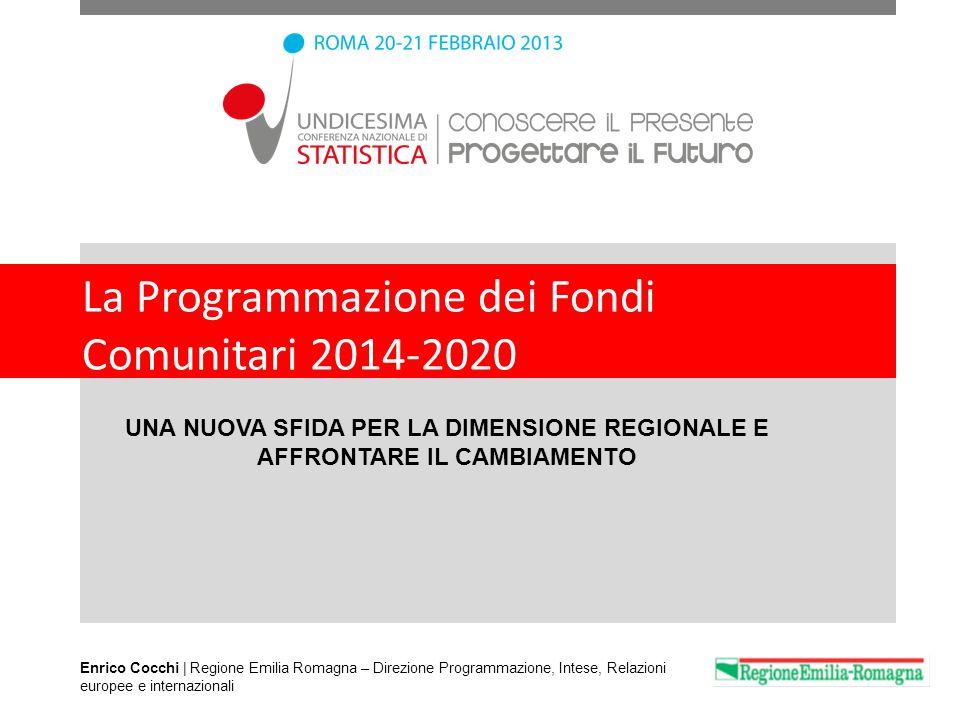 La Programmazione dei Fondi Comunitari 2014-2020