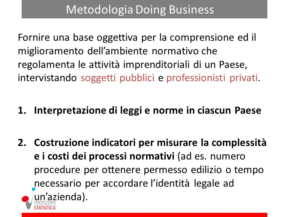 Metodologia Doing Business