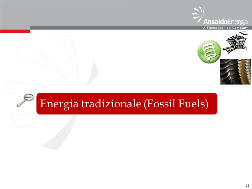 Energia tradizionale (Fossil Fuels)
