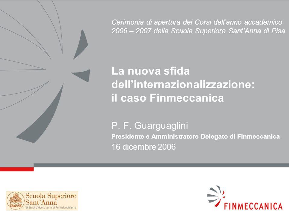 P. F. Guarguaglini 16 dicembre 2006