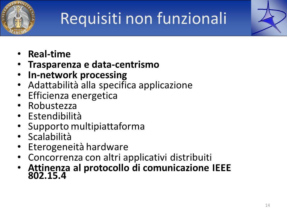 Requisiti non funzionali