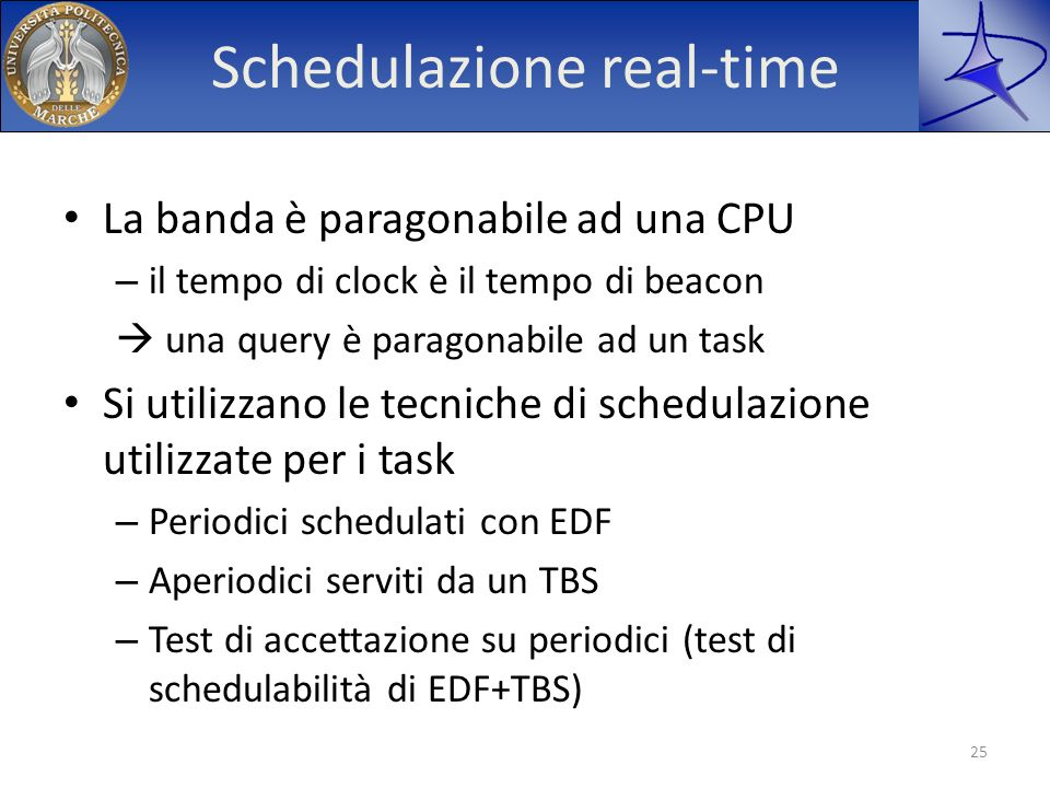 Schedulazione real-time