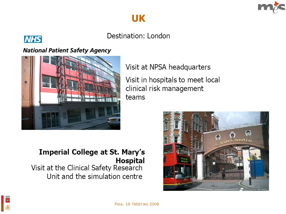 UK Destination: London Visit at NPSA headquarters