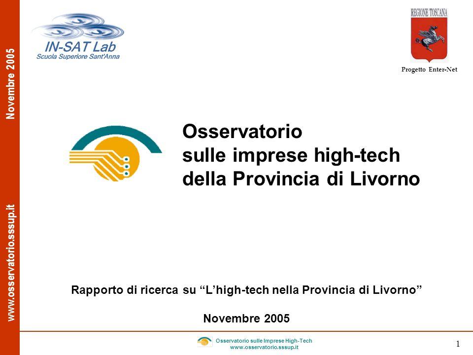 sulle imprese high-tech della Provincia di Livorno