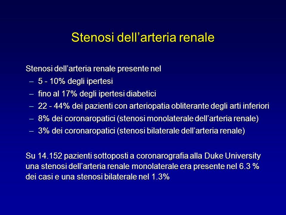 Stenosi dell'arteria renale