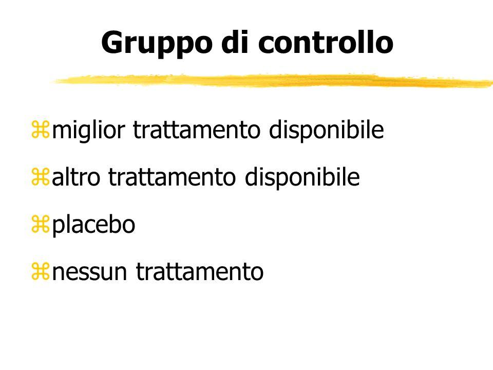 Gruppo di controllo miglior trattamento disponibile
