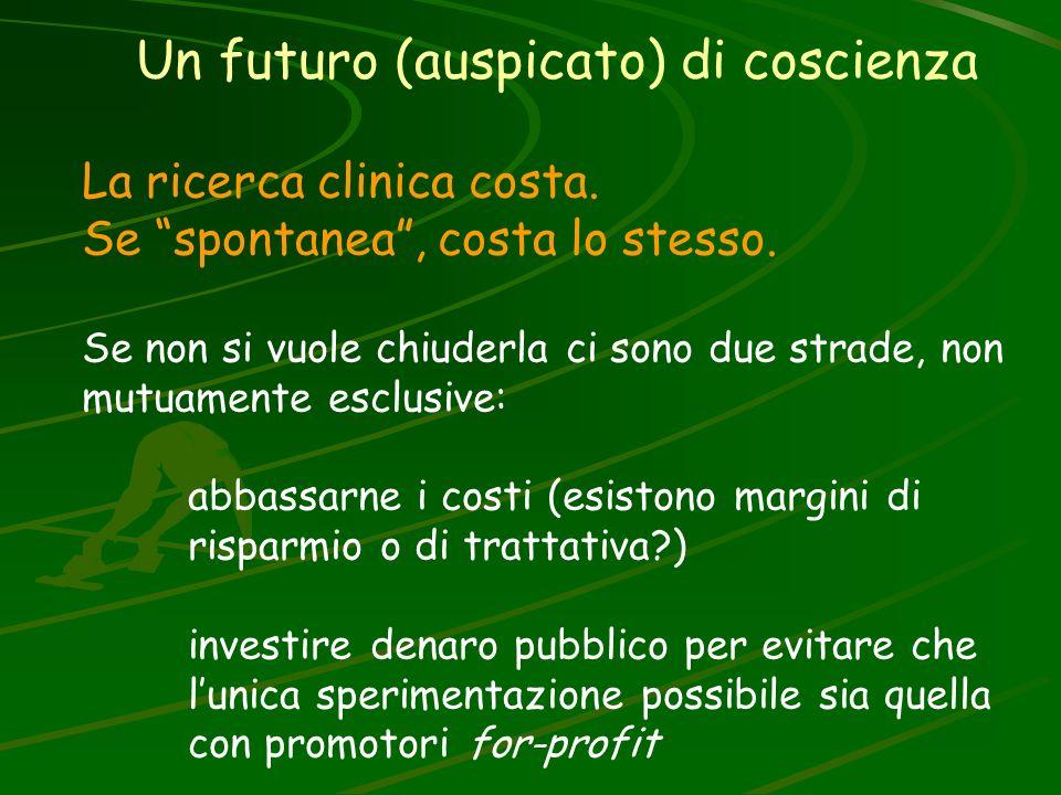 Un futuro (auspicato) di coscienza