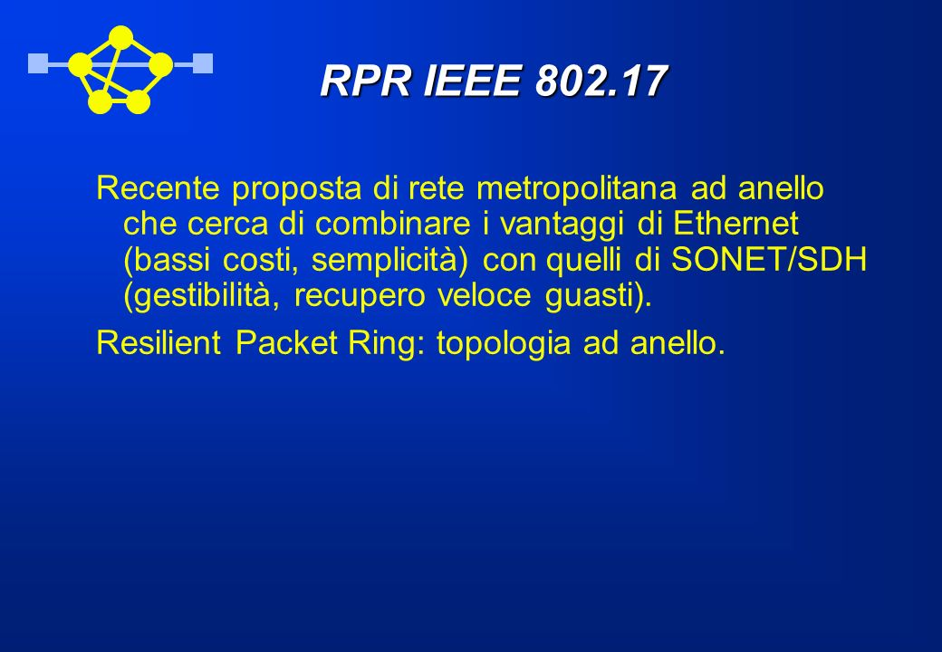 RPR IEEE 802.17
