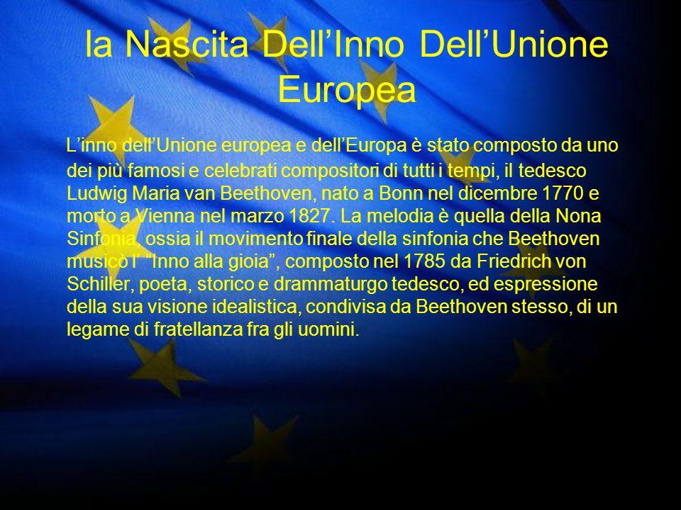 la Nascita Dell'Inno Dell'Unione Europea