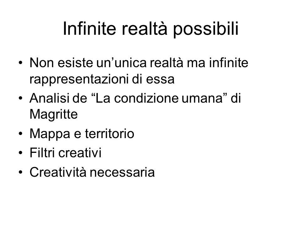 Infinite realtà possibili