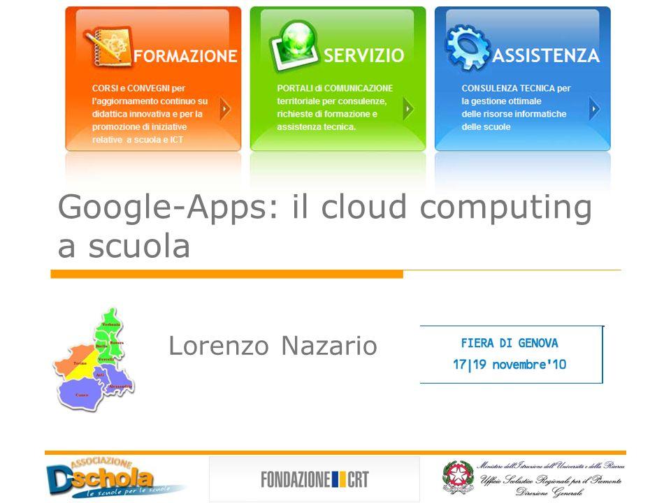 Google-Apps: il cloud computing a scuola