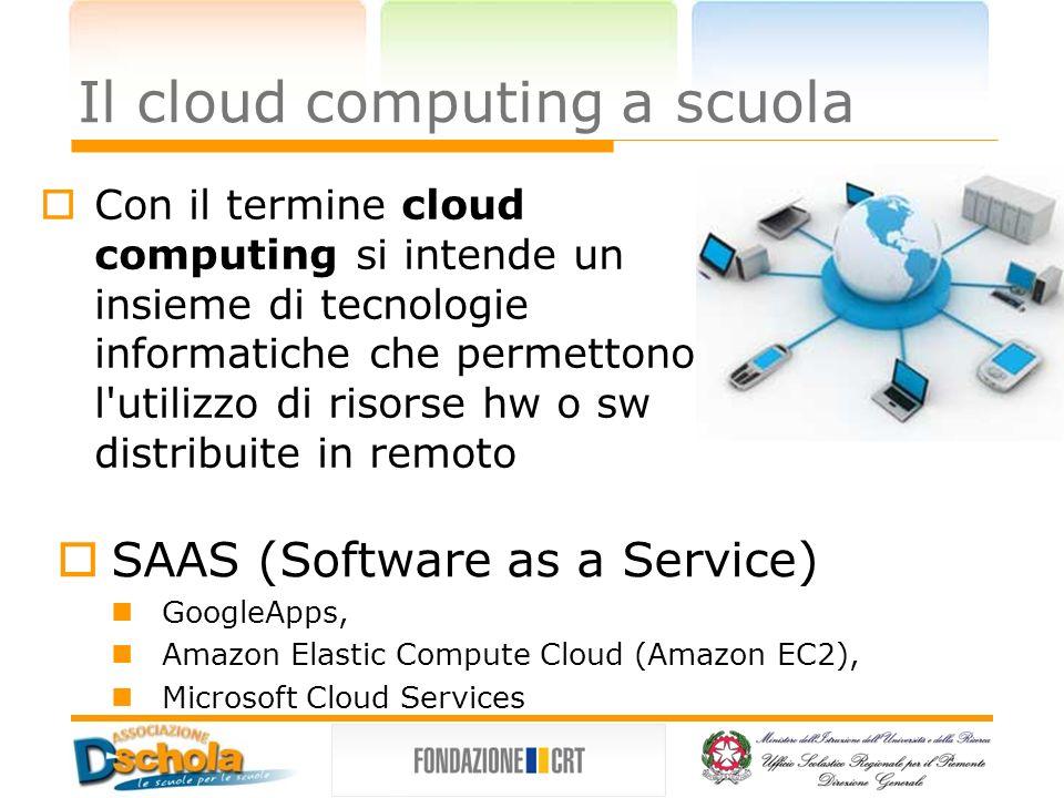 Il cloud computing a scuola