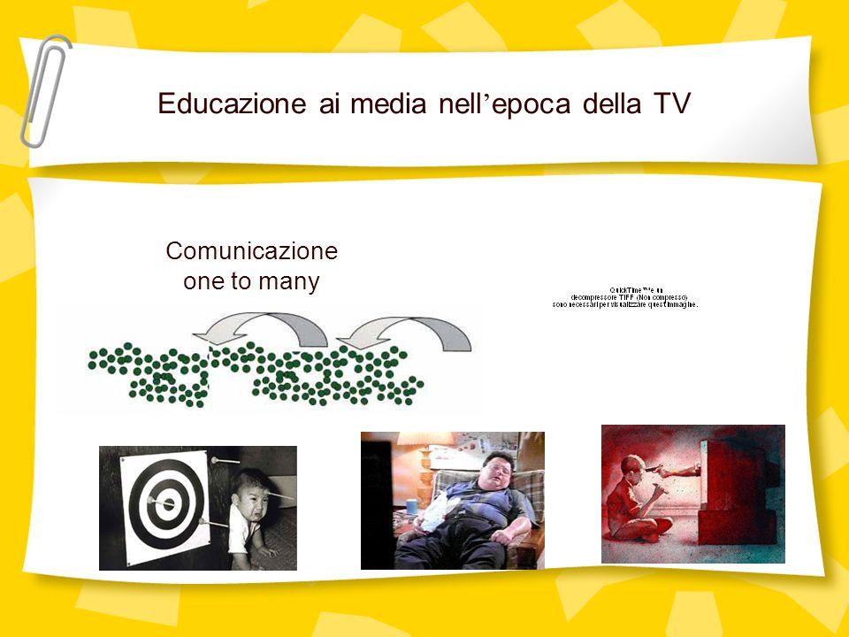 Educazione ai media nell'epoca della TV