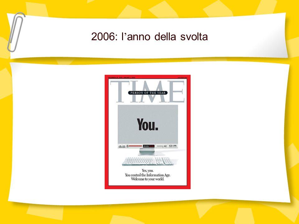 2006: l'anno della svolta