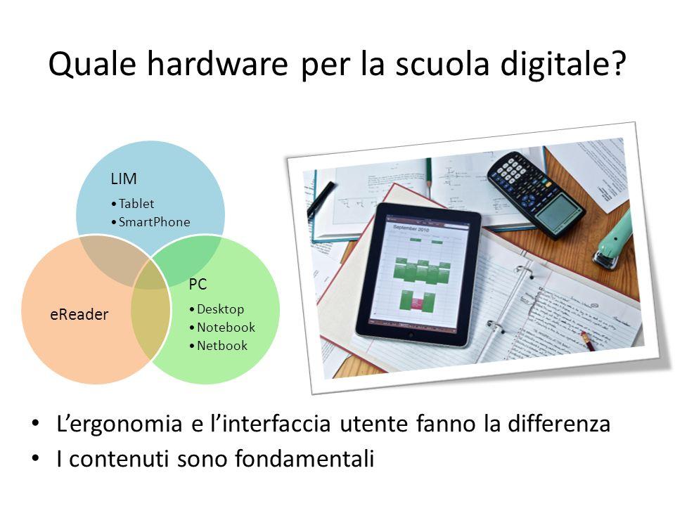 Quale hardware per la scuola digitale