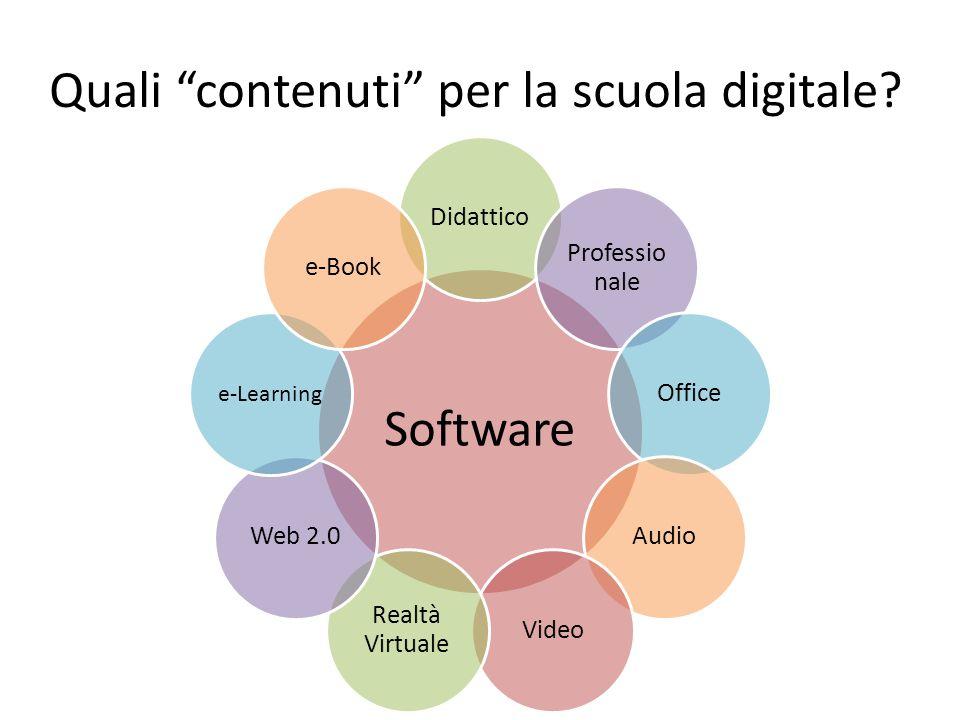Quali contenuti per la scuola digitale