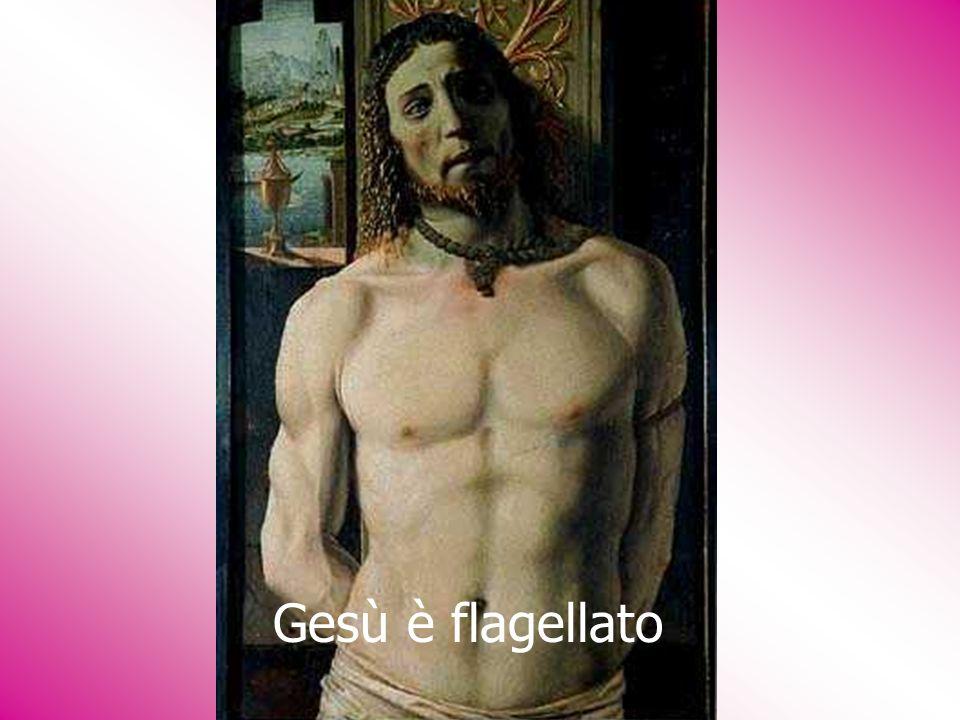 Gesù è flagellato