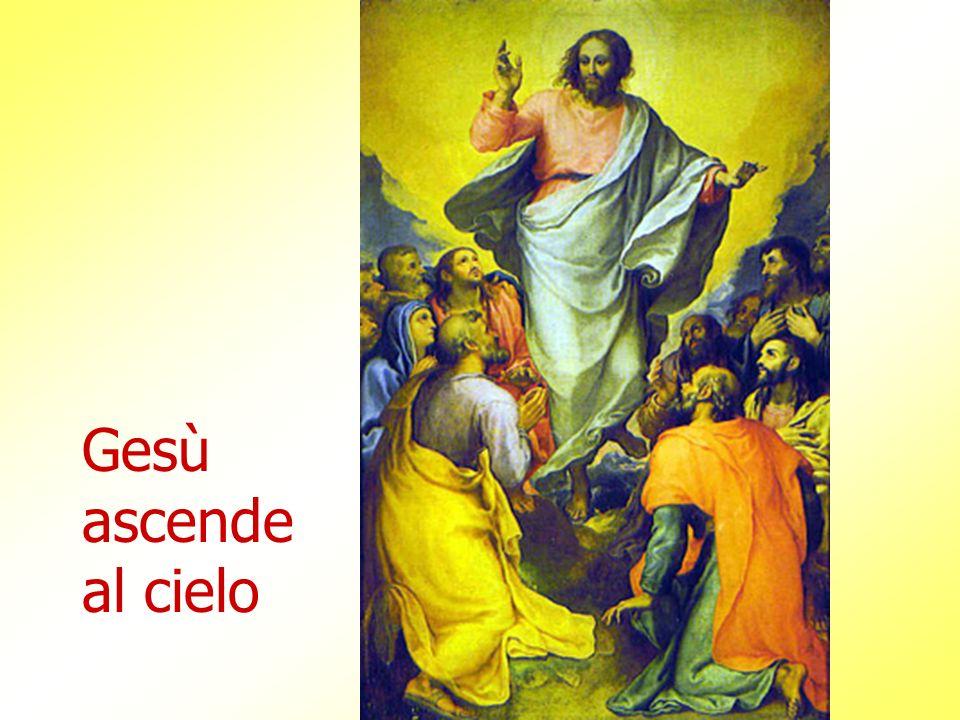 Gesù ascende al cielo