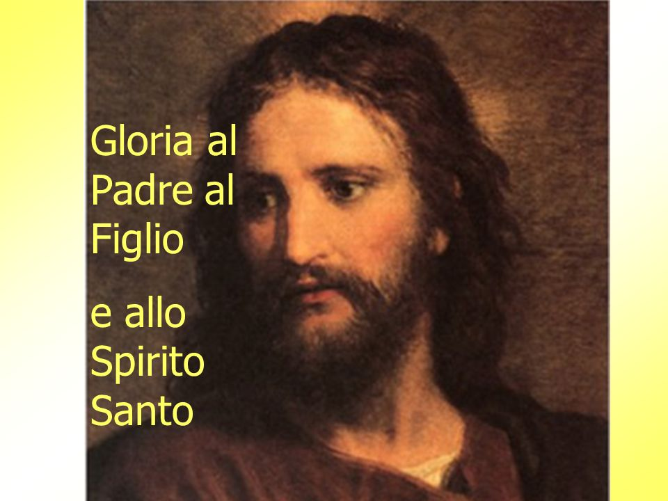 Gloria al Padre al Figlio