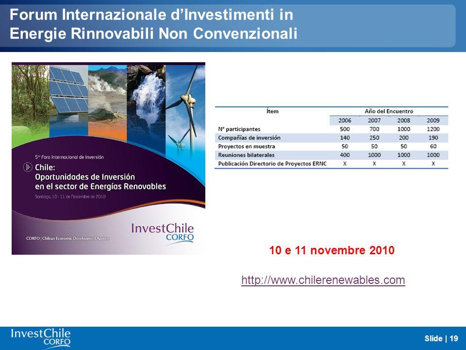 Forum Internazionale d'Investimenti in Energie Rinnovabili Non Convenzionali