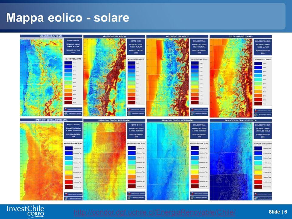 Mappa eolico - solare http://condor.dgf.uchile.cl/EnergiaRenovable/Chile/