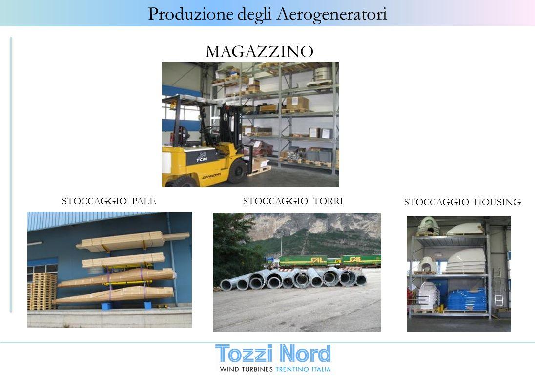 Produzione degli Aerogeneratori