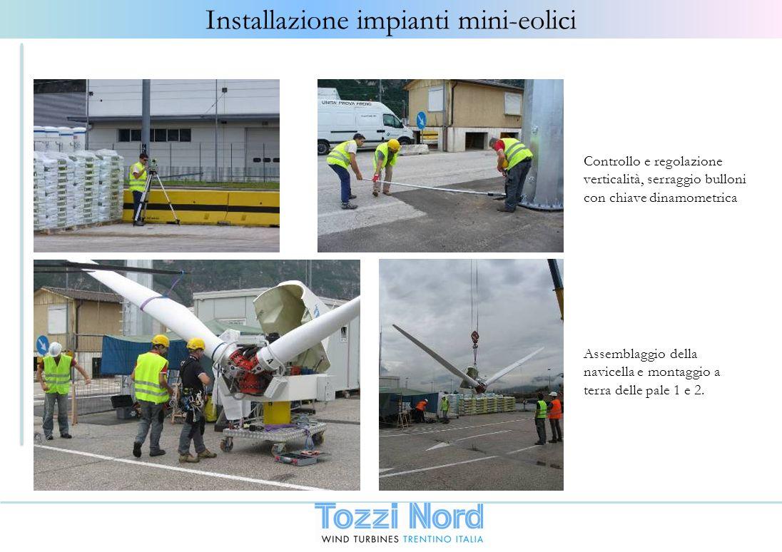 Installazione impianti mini-eolici