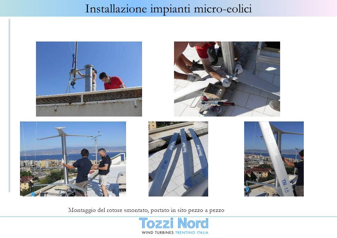 Installazione impianti micro-eolici