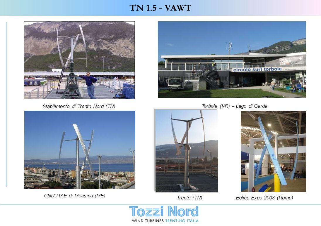 TN 1.5 - VAWT Stabilimento di Trento Nord (TN)